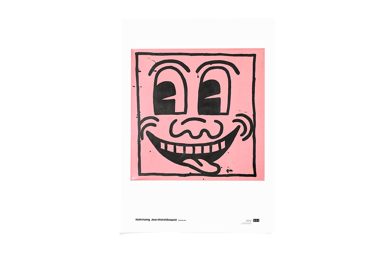 Poster Untitled (pink face) 1981 Keith Haring