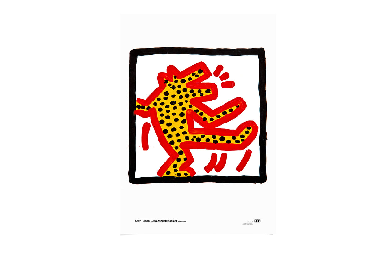 Poster Dog Untitled 1982 Keith Haring