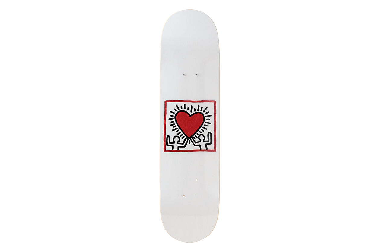 Keith Haring Untitled (Heart) Skateboard