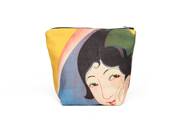 Smiling Lady Pouch