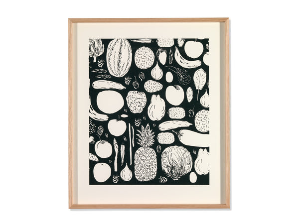Martí Guixé <br/><em>Black and white food<br/></em> <span>(2016)</span>