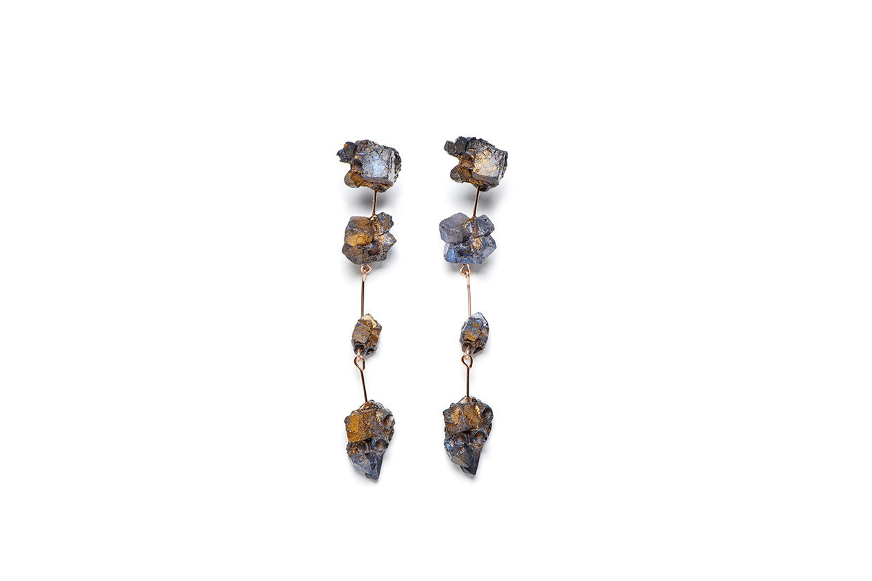 Aimee Fairman for NGV Triple Drop Earrings