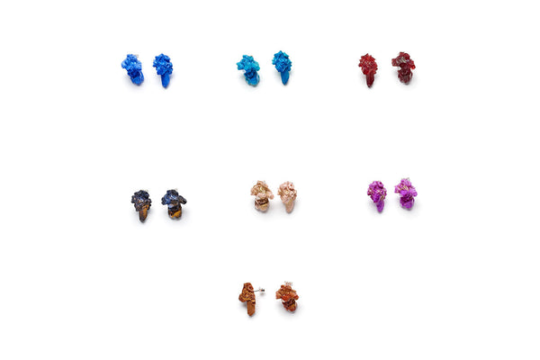 Aimee Fairman for NGV Crystal Cluster Stud Earrings