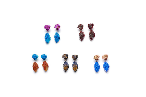 Aimee Fairman for NGV Short Drop Earrings