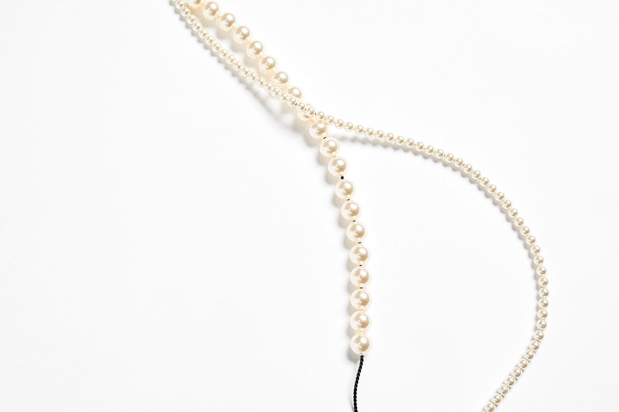 Necklace Pearl Cream