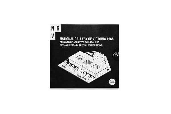 National Gallery of Victoria 1968 50th Anniversary edition model