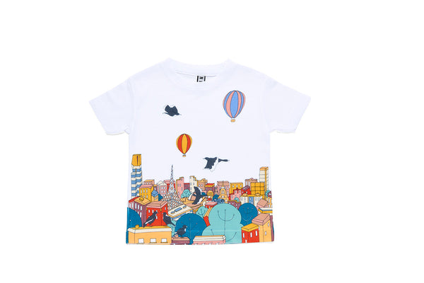 Kids T-shirt Hello Melbourne