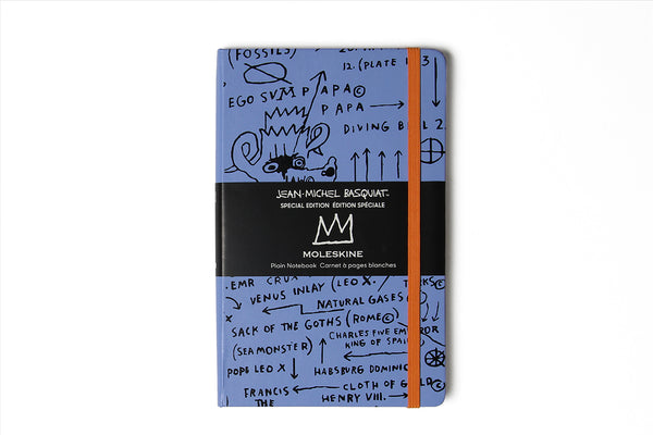 Notebook Plain Blue Basquiat
