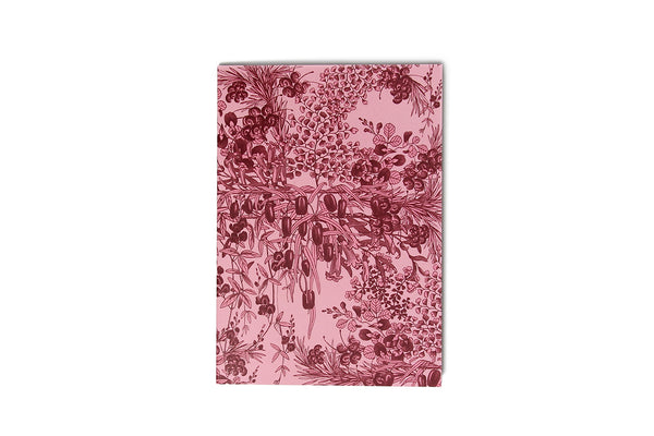 Notebook Pink Botanical