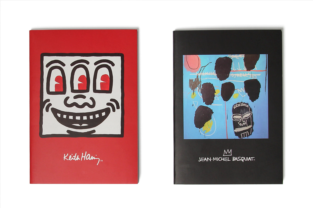 Journal Set Keith Haring Jean-Michel Basquiat