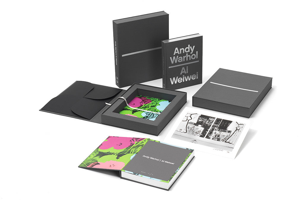 Andy Warhol | Ai Weiwei Limited Edition Art Book with archival print by Ai Weiwei