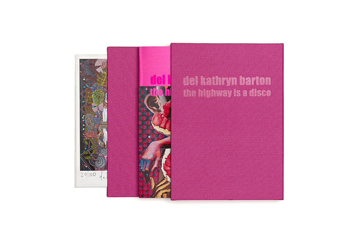 Del Kathryn Barton: The Highway is a Disco Limited Edition Art Book with Inkjet print by Del Kathryn Barton