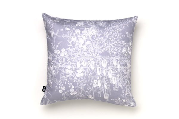 Cushion Cover Grey Botanical