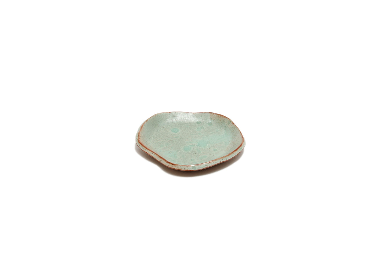 Plate Small Lotus Green 10cm