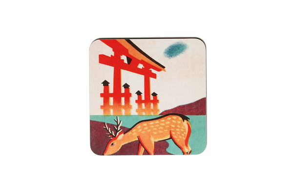 Japanese Deer Pot Stand