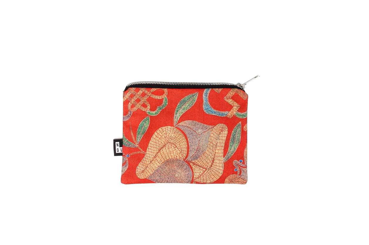 Pouch Chinese folding Purse Red
