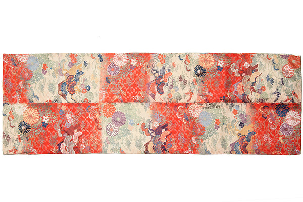 Orange Kimono Table Runner