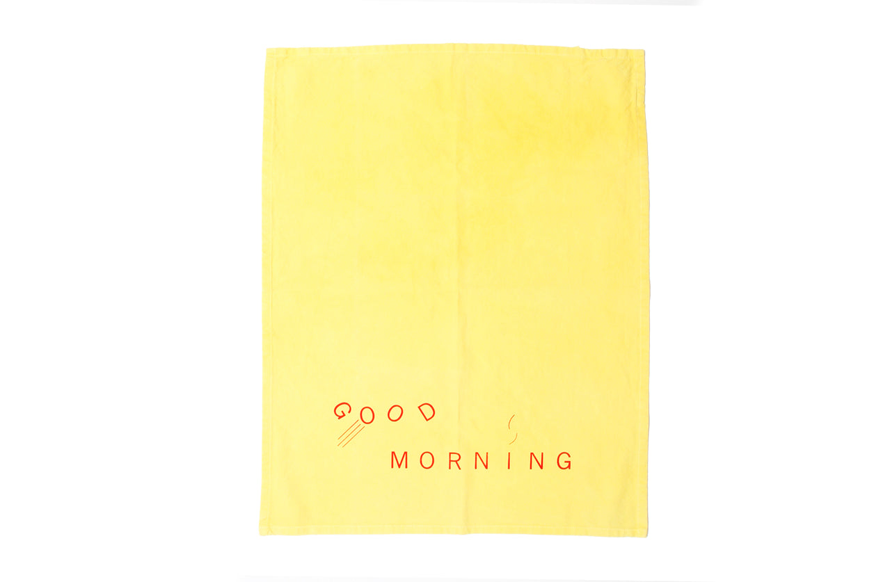 Tea Towel Good Morning