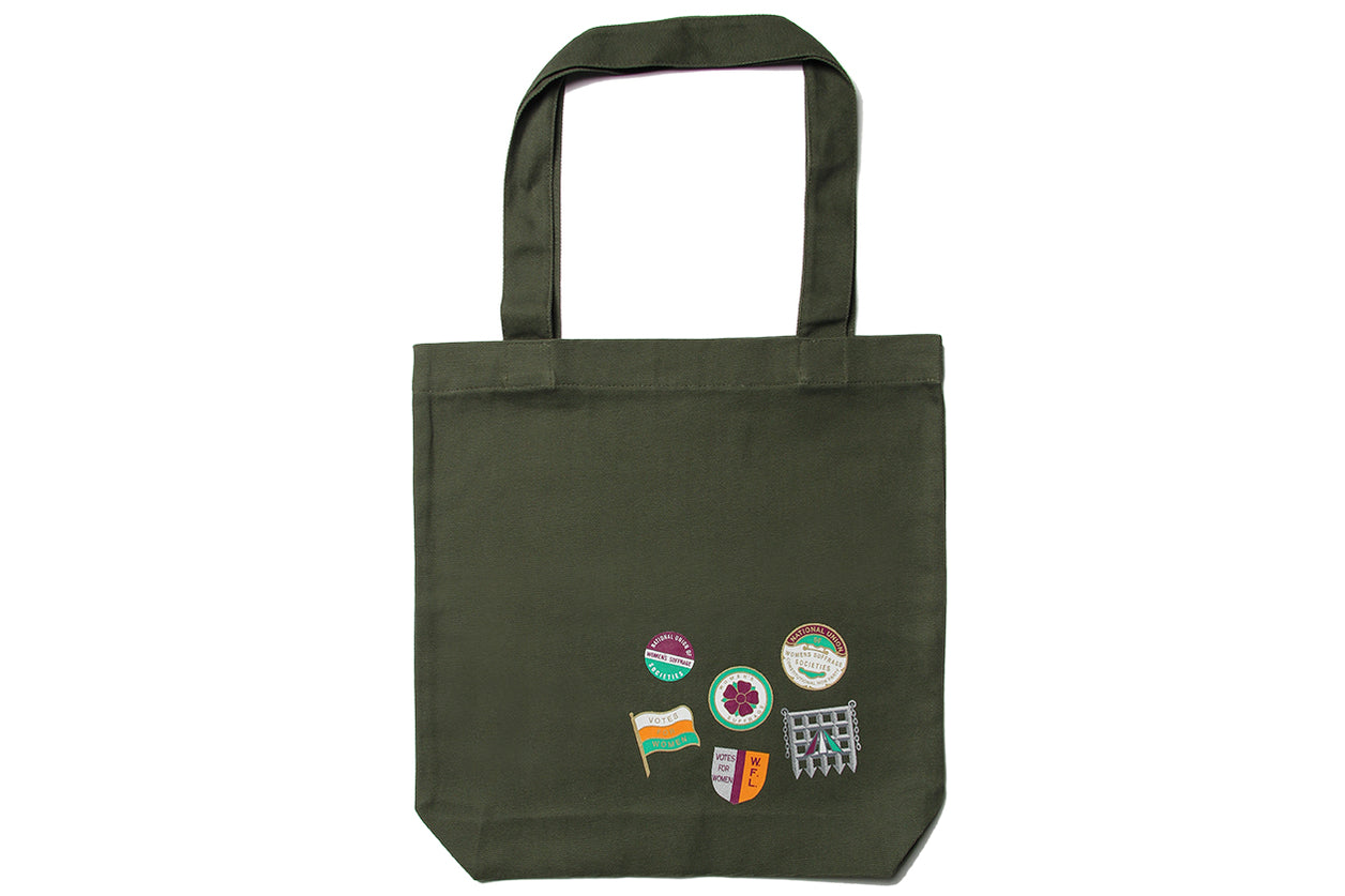 Suffragette Votes For Women Green Tote