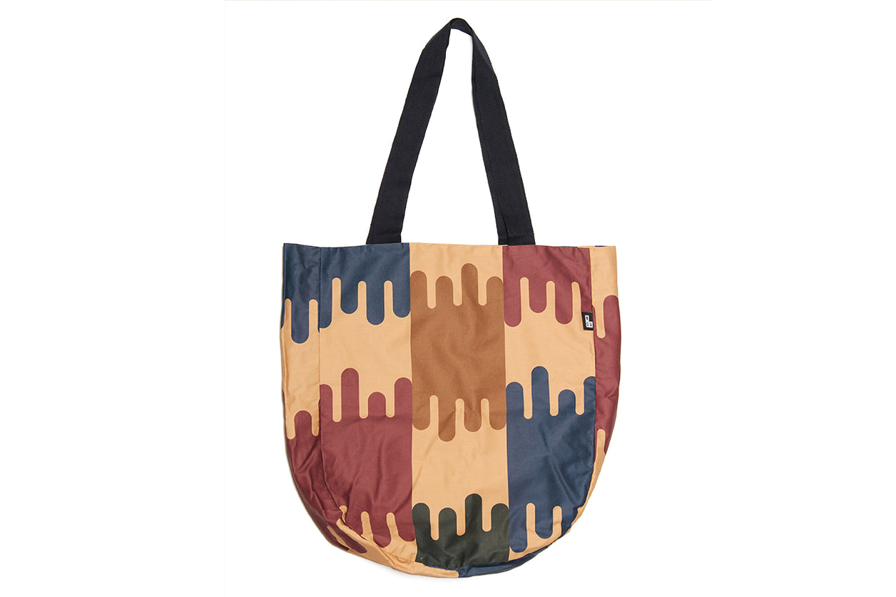 Japanese Geometric Tote Bag
