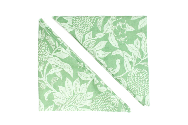 Napkins Set Of 2 Banksia Green