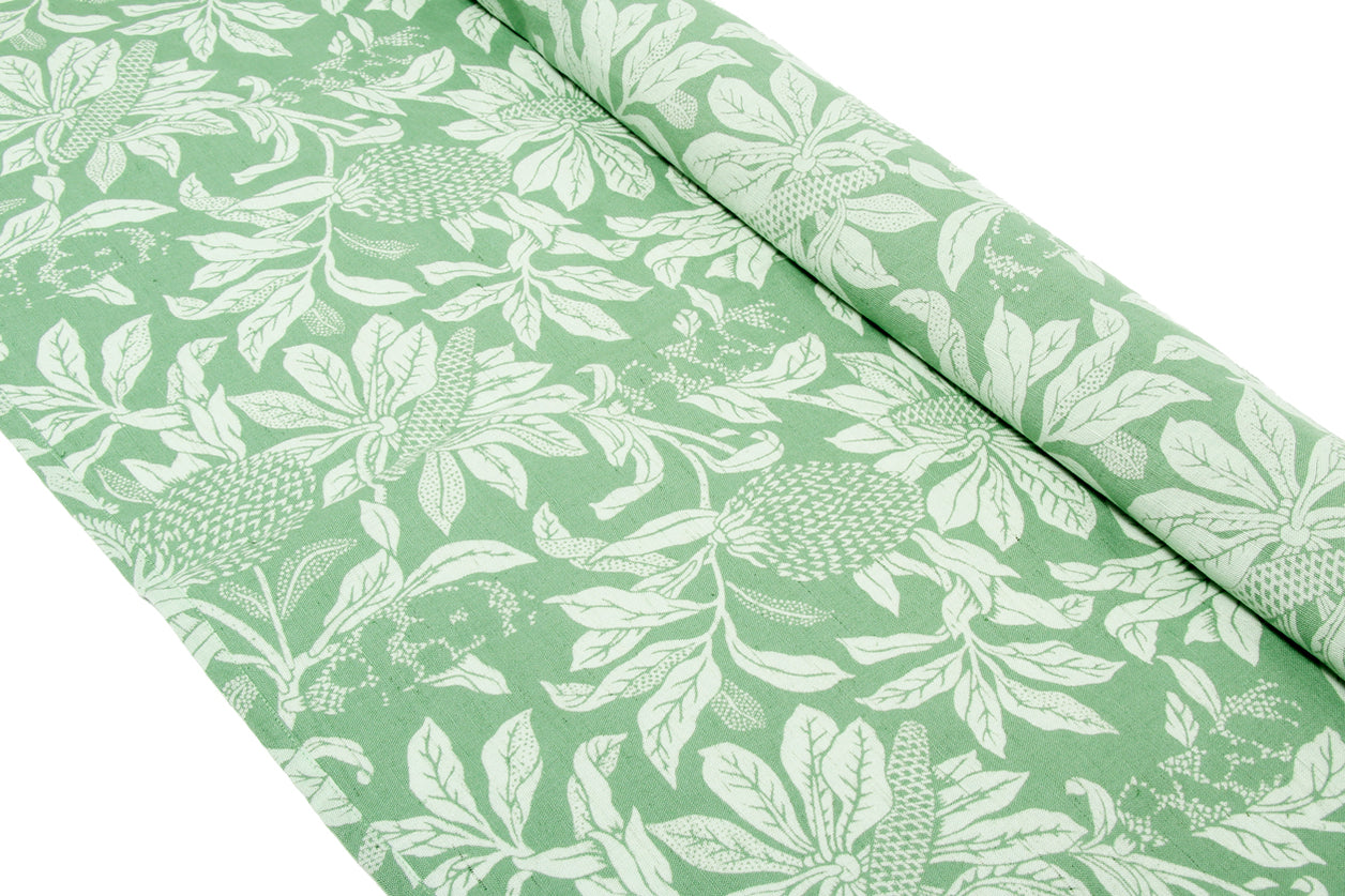 Table Runner Banksia Green 40x238cm