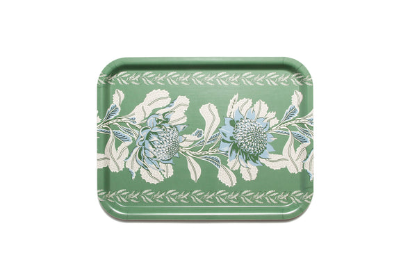 Rectangle Tray Imperial Waratah Forrest 30x40cm