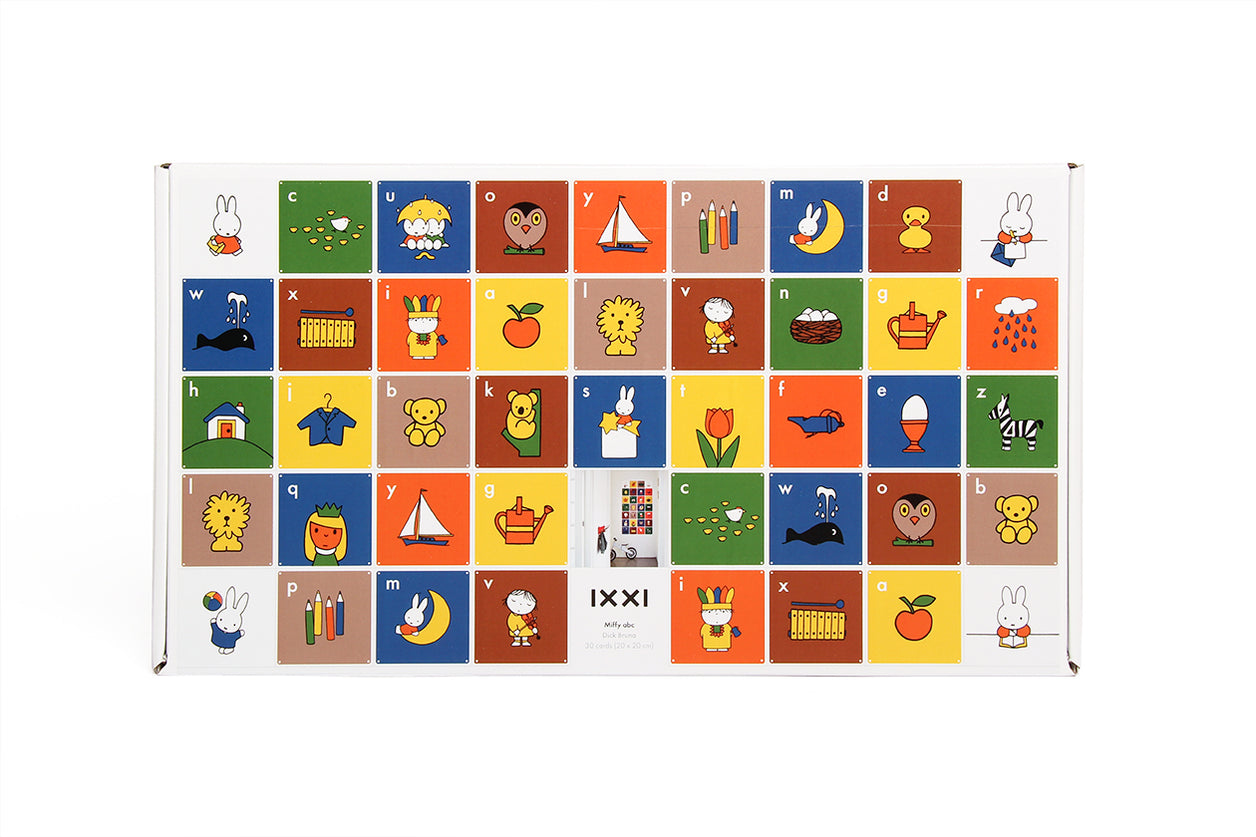 Wall Chart Miffy ABC