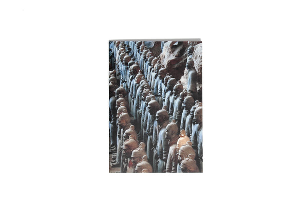Notebook Softcover Qin Shihuangs Terracotta Warriors Detail
