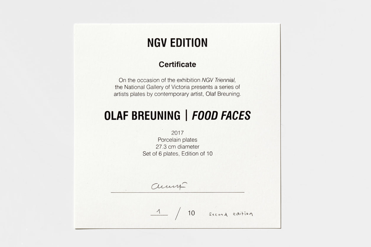 Olaf Breuning | Food Faces (2018), Second Edition
