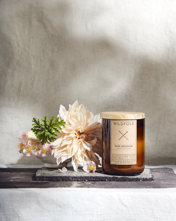 Wildfolk botanical candles
