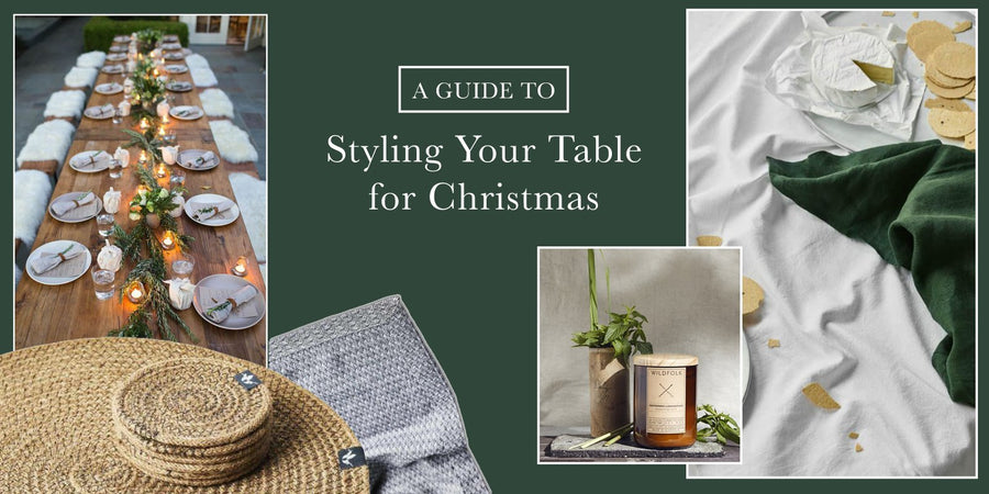 Styling Your Table For Christmas