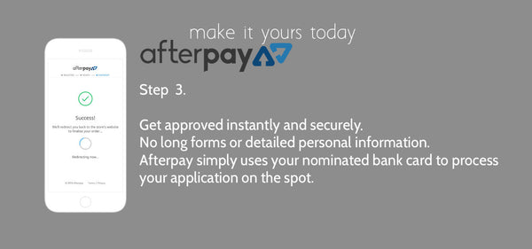 Afterpay payment method slide 3