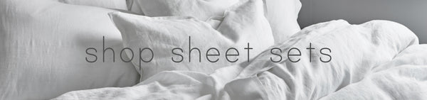 Bed sheet sets and bed linen