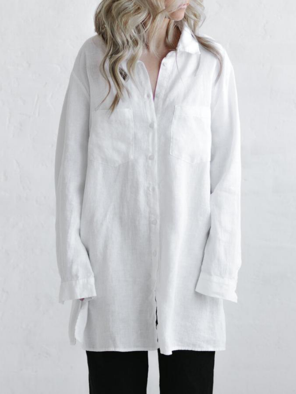Boyfriend Shirt-Clothing-Sheets on the Line
