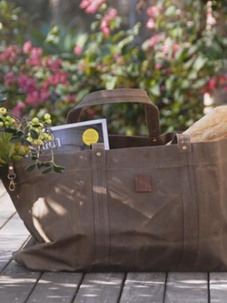 Waxed Canvas Bag-Garden Accessories-Sheets on the Line