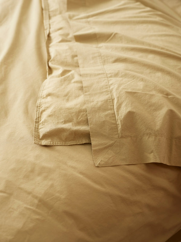 Crushed Cotton - Banksia-Bed Linen - Cotton-Sheets on the Line