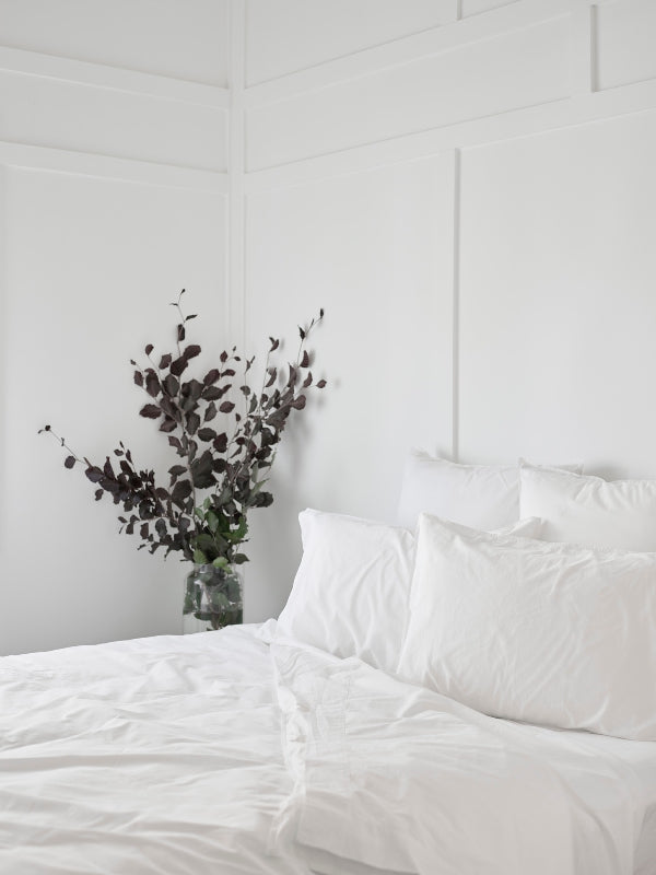 Crushed Cotton - Cloud-Bed Linen - Cotton-Sheets on the Line