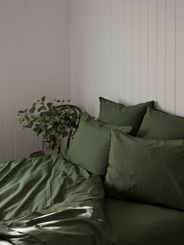 Crushed Cotton - Myrtle-Bed Linen - Cotton-Sheets on the Line