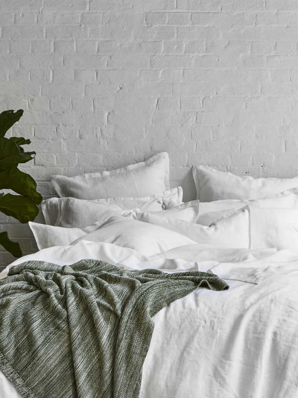 Cloud - bed linen-Bed Linen - Pure Linen-Sheets on the Line