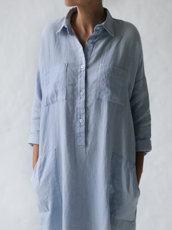 Shirt Dress-Clothing-Sheets on the Line