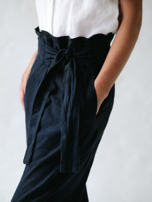 Wrap Trousers-Clothing-Sheets on the Line