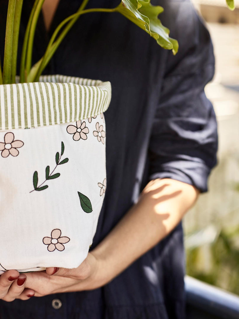 Fold Down Bag - Botany-Table Linen-Sheets on the Line