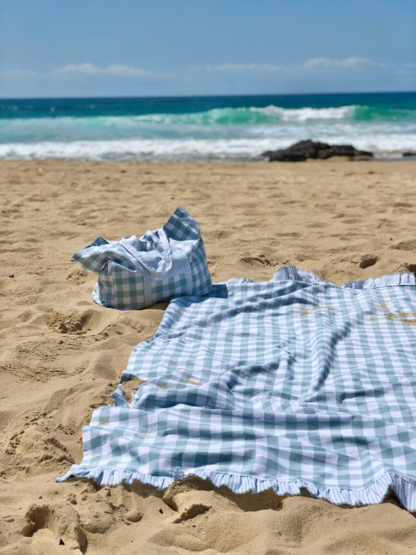 Shoreline - beach towels + bags-Towels-Sheets on the Line