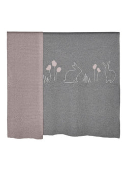 Bunny Blanket-Blanket/Throw-Sheets on the Line