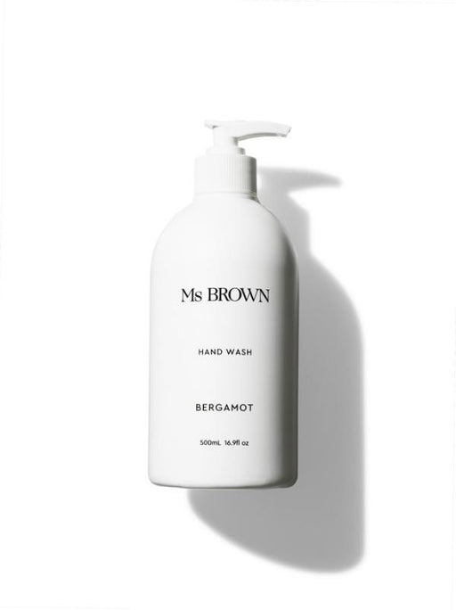 Hand Wash 500ml Bergamot - Sheets on the Line