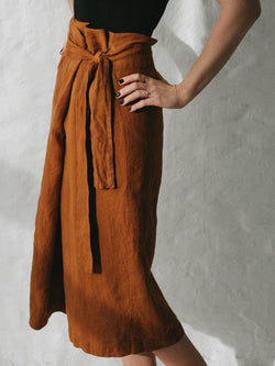 Belted Skirt-Clothing-Sheets on the Line