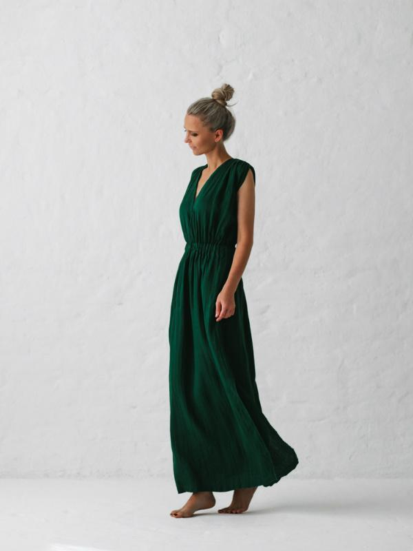 Linen Column Dress-Clothing-Sheets on the Line