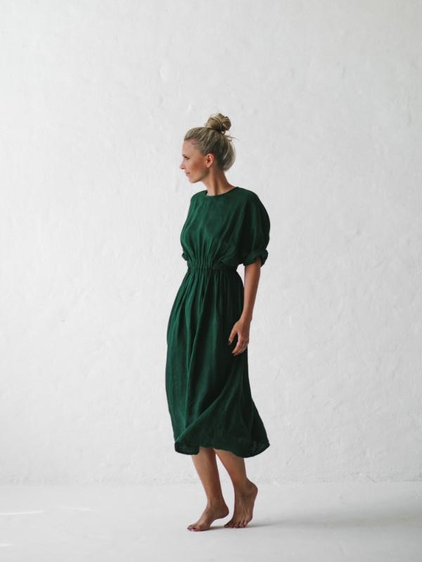 Linen Dress-Clothing-Sheets on the Line