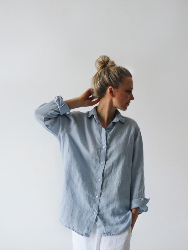 Linen Shirt-Clothing-Sheets on the Line